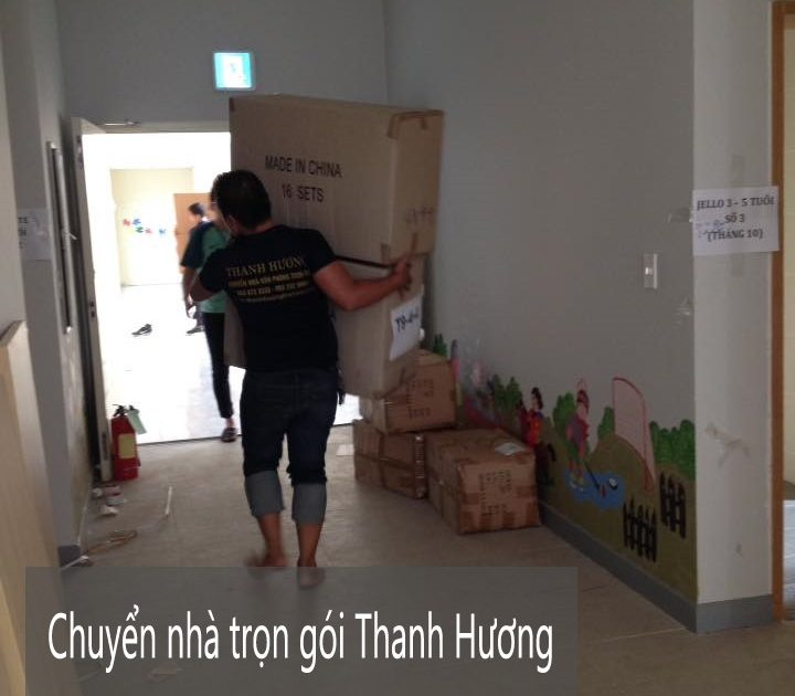 Dịch vụ chuyển nhà trọn gói tại phố Đức Giang
