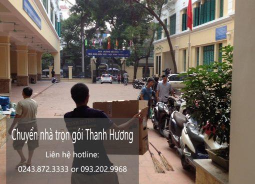 Dịch vụ chuyển nhà trọn gói tại phố Trần Thủ Độ