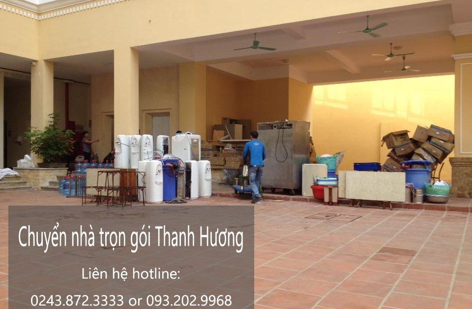 Dịch vụ chuyển nhà trọn gói tại phố Yên Duyên