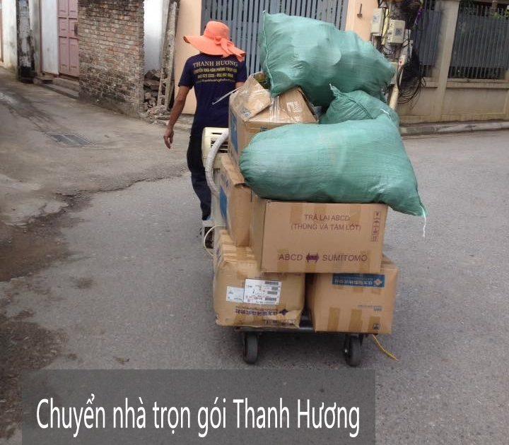 Dịch vụ chuyển nhà trọn gói Thanh Hương tại phố Nghĩa Tân