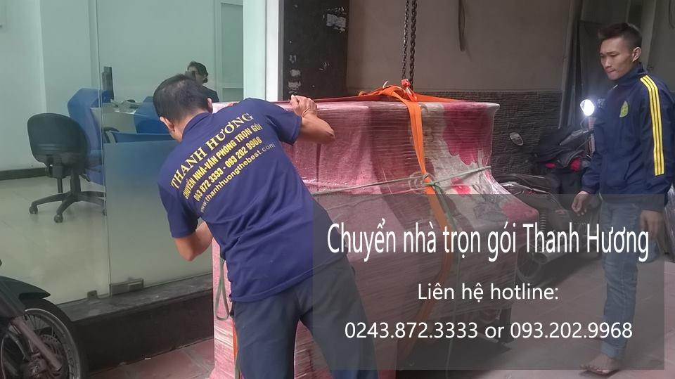 Dịch vụ chuyển nhà trọn gói giá rẻ tại phố Phúc Xá