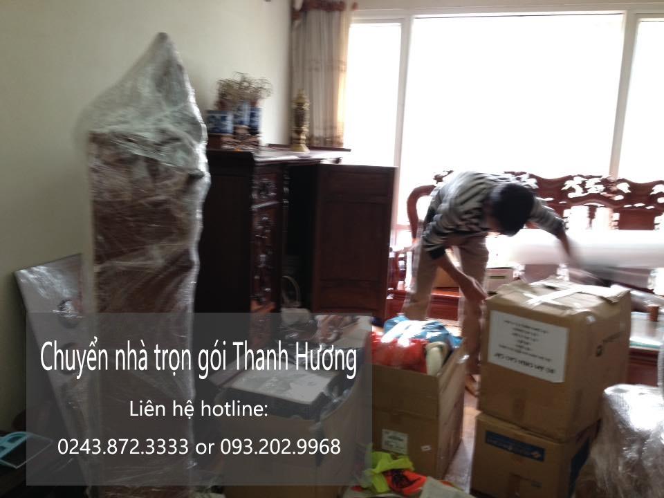 Dịch vụ chuyển nhà trọn gói tại phố Nguyễn Tri Phương