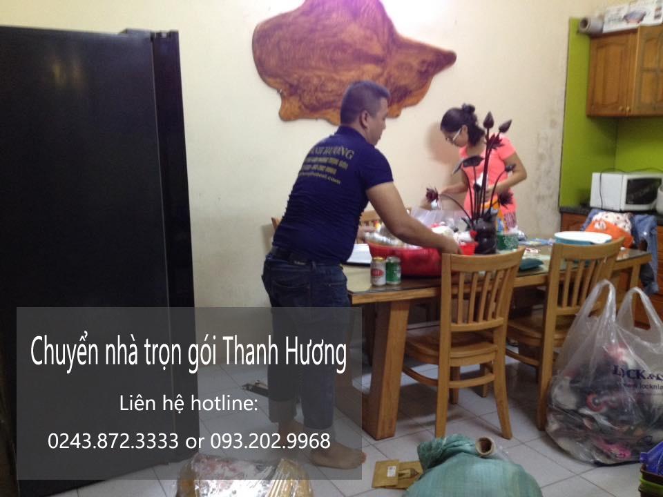 Dịch vụ chuyển nhà trọn gói tại phố Trần Khát Chân