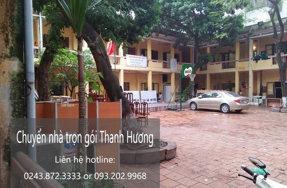 Dịch vụ chuyển nhà trọn gói tại phố Võ Chí Công