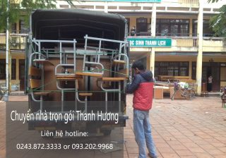 Dịch vụ chuyển nhà trọn gói tại phố Bùi Xương Thạch