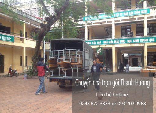 Chuyển nhà trọn gói tại phố Yên Nội