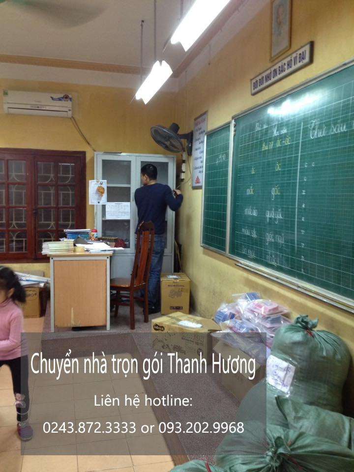 Dịch vụ chuyển nhà trọn gói tại phố Thanh Bình