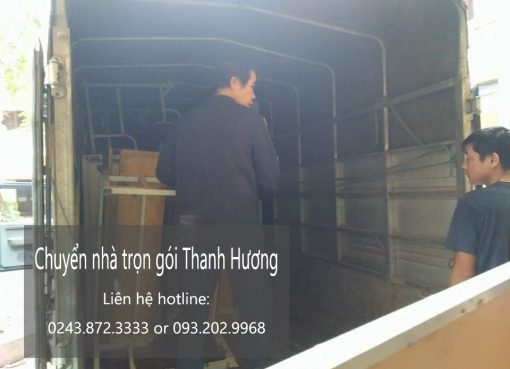 Dịch vụ chuyển nhà trọn gói tại phố Phúc Hoa