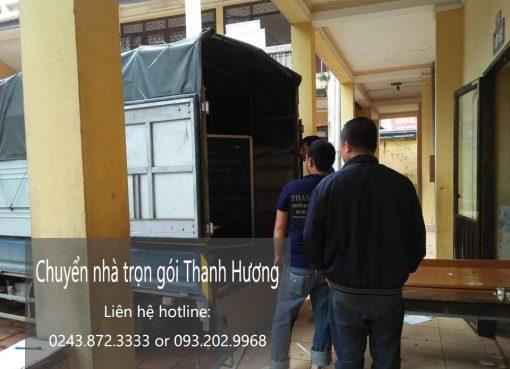 Dịch vụ chuyển nhà trọn gói tại phố Lương Thế Vinh
