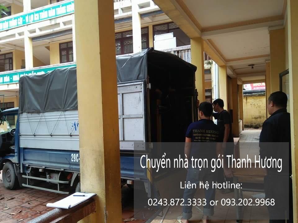 Chuyển nhà trọn gói tại phố Đại Cồ Việt