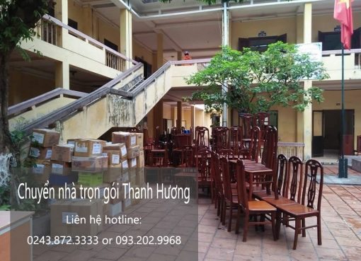 Dịch vụ chuyển nhà trọn gói giá rẻ tại phố Lê Văn Thêm