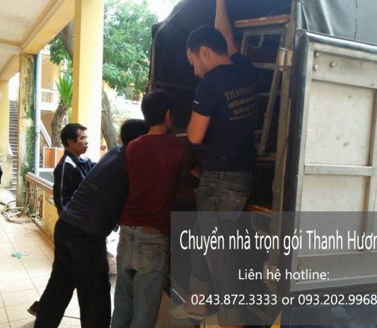 Chuyển nhà trọn gói tại phố Phúc Xá