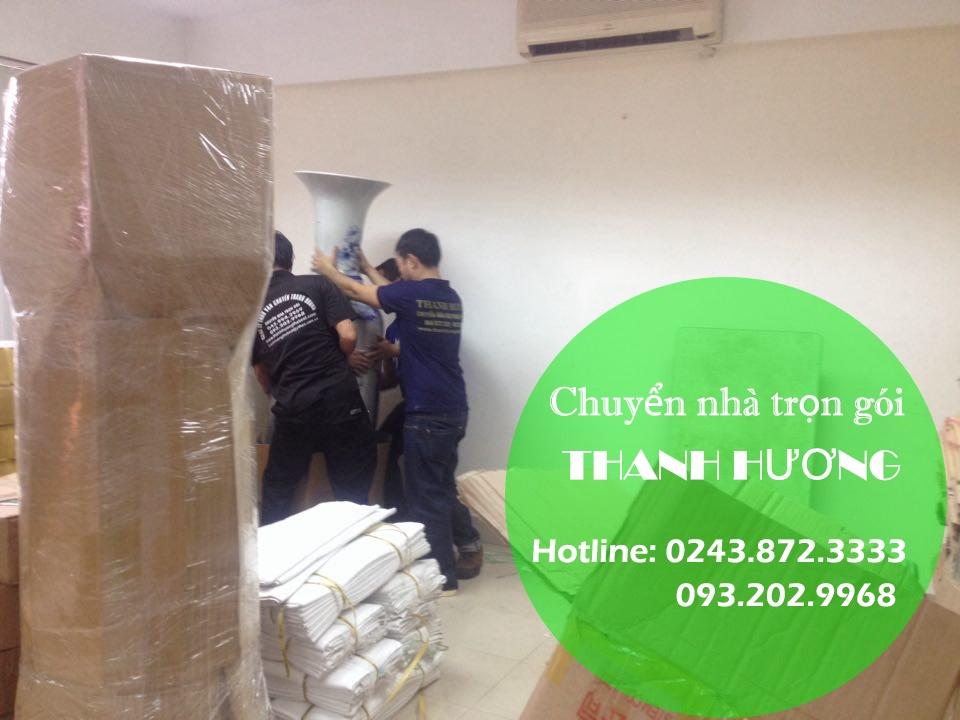 Dịch vụ chuyển nhà trọn gói Thanh Hương tại phố Điện Biên Phủ