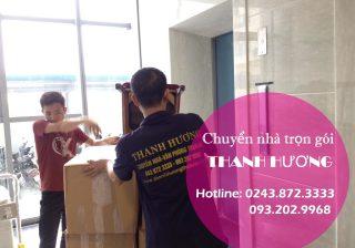 Dịch vụ chuyển nhà trọn gói tại phố Lương Ngọc Quyến