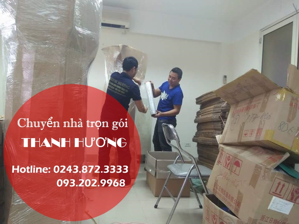 Dịch vụ chuyển nhà Thanh Hương tại phố Nguyễn Cảnh Chân
