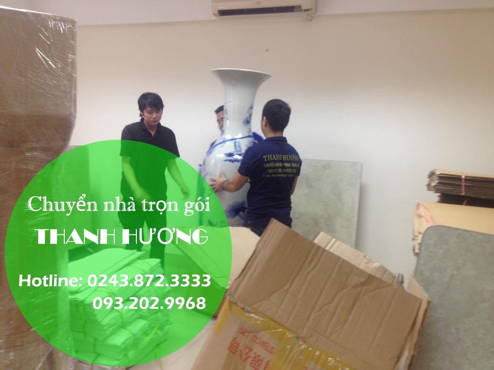 Dịch vụ chuyển nhà trọn gói tại phố Ngô Văn Sở