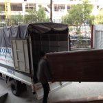 Cho thuê xe tải giá rẻ Thanh Hương tại khu đô thị Đặng Xá