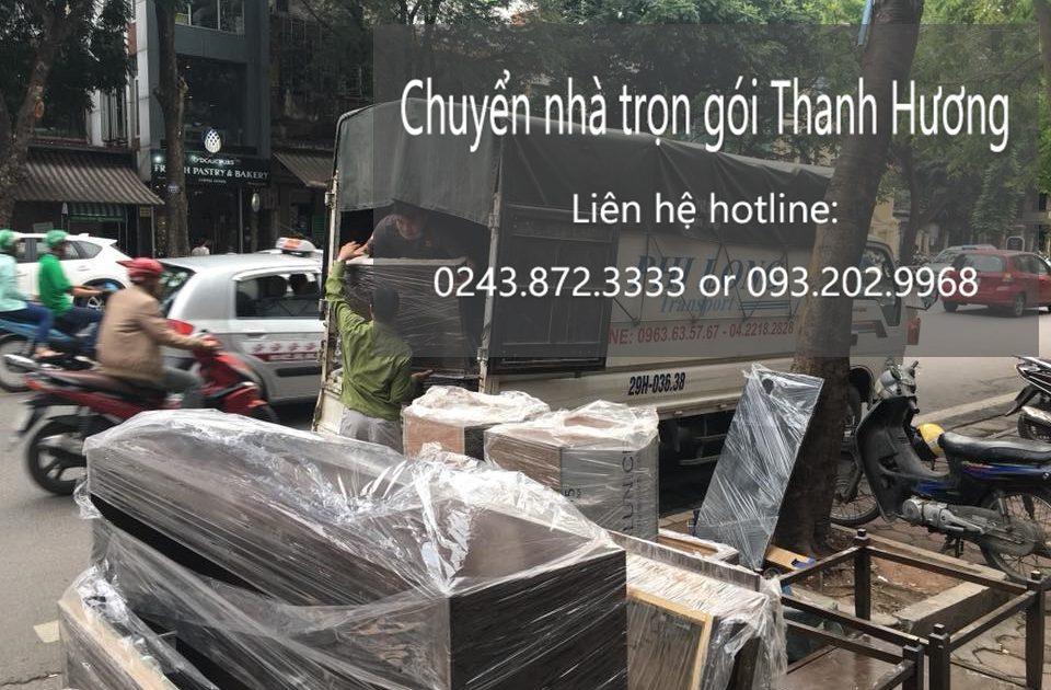 Chuyển nhà trọn gói tại phố Nguyễn Hữu Huân