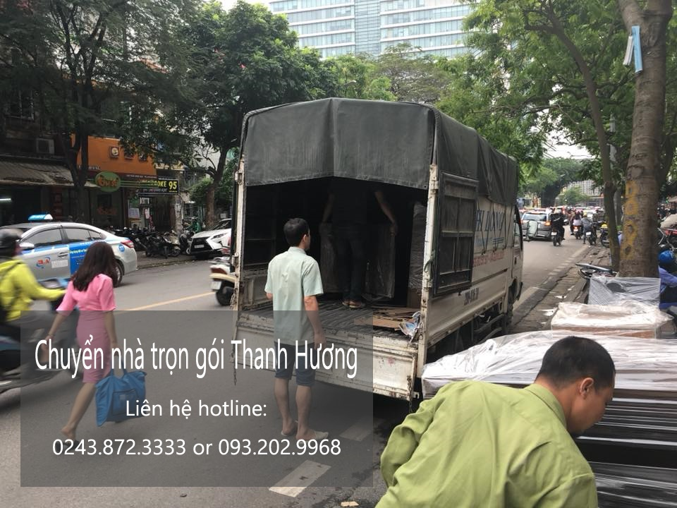 Chuyển nhà trọn gói tại phố Hàng Hòm
