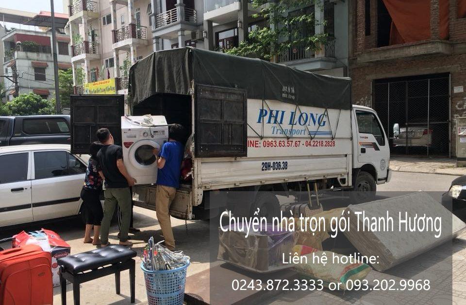 Dịch vụ chuyển nhà trọn gói Thanh Hương tại phố Lê Hồng Phong