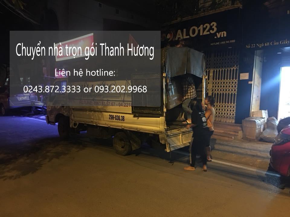 Dịch vụ vận chuyển Thanh Hương tại phố Vũ Trọng Phụng