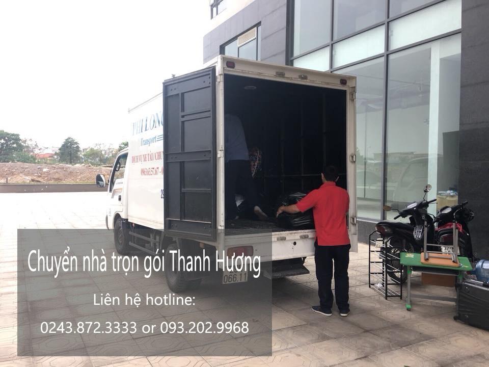 Dịch vụ chuyển nhà trọn gói tại phố Cầu Bắc