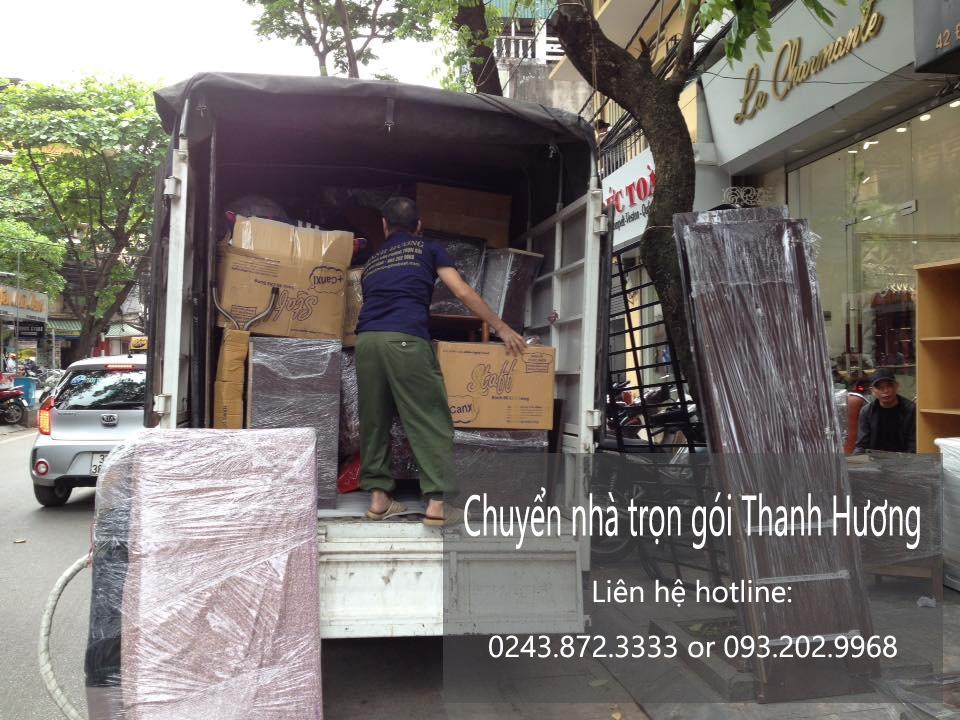Dịch vụ chuyển nhà trọn gói tại phố Tô Tịch
