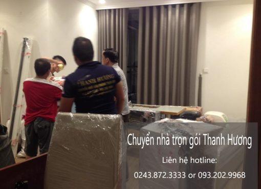Dịch vụ chuyển nhà trọn gói tại phố Yên Ninh
