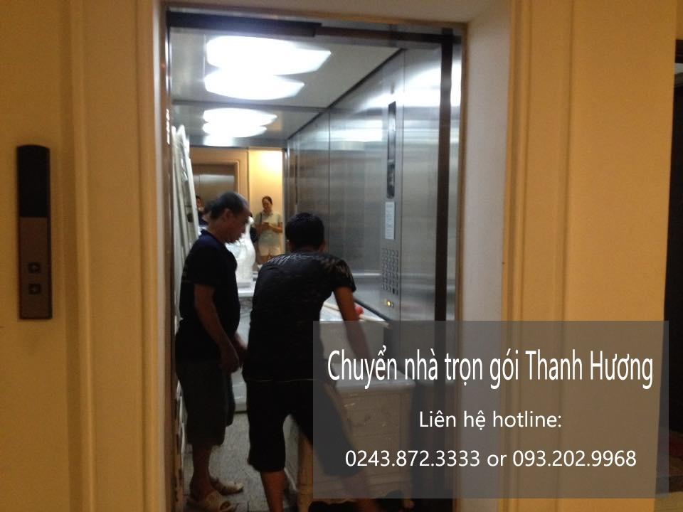 Dịch vụ chuyển nhà Thanh Hương tại phố Đặng Tiến Công