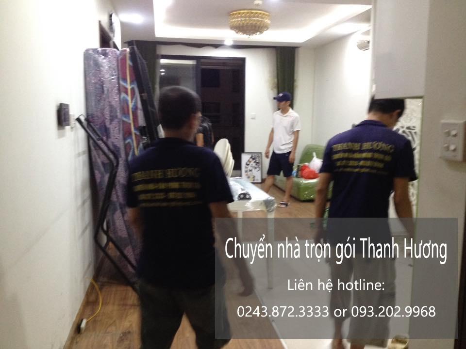 Dịch vụ chuyển nhà trọn gói Thanh Hương tại phố Chương Dương Độ