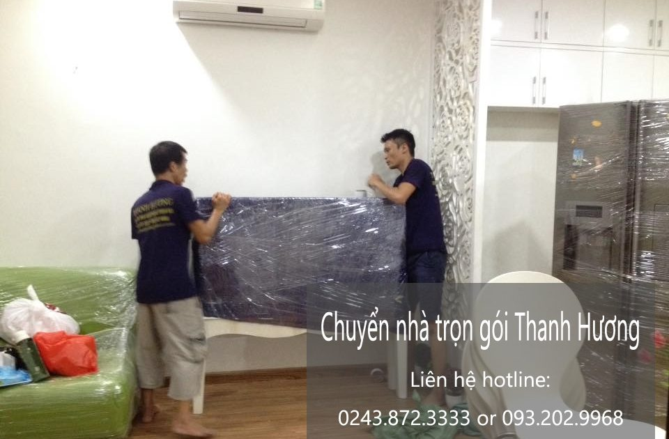 Chuyển nhà trọn gói tại phố Hồng Hà