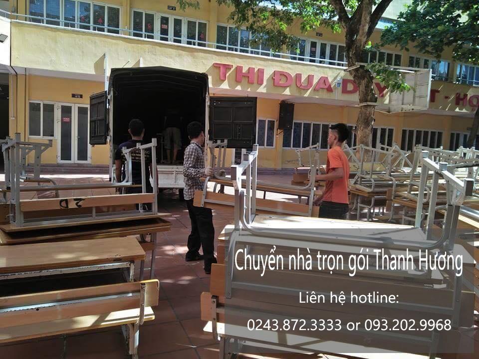 Dịch vụ chuyển nhà trọn gói Thanh Hương tại đường Lạc Long Quân
