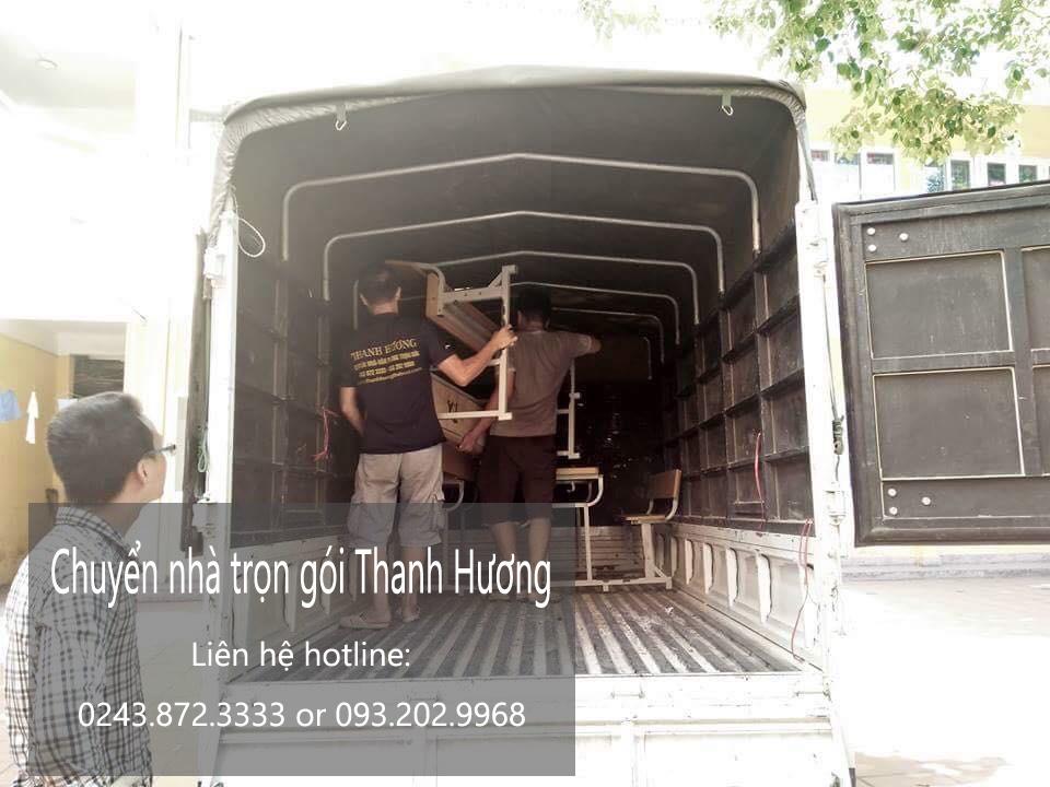 Dịch vụ chuyển nhà trọn giá rẻ tại phố Cầu Bây