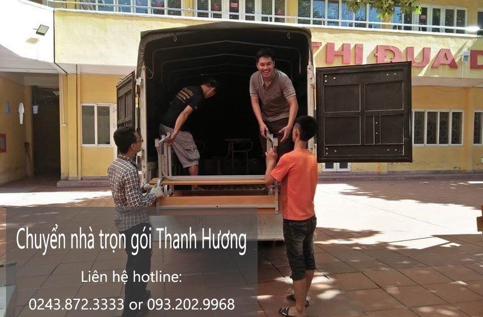 Dịch vụ chuyển nhà trọn gói tại phố Hàng Thùng