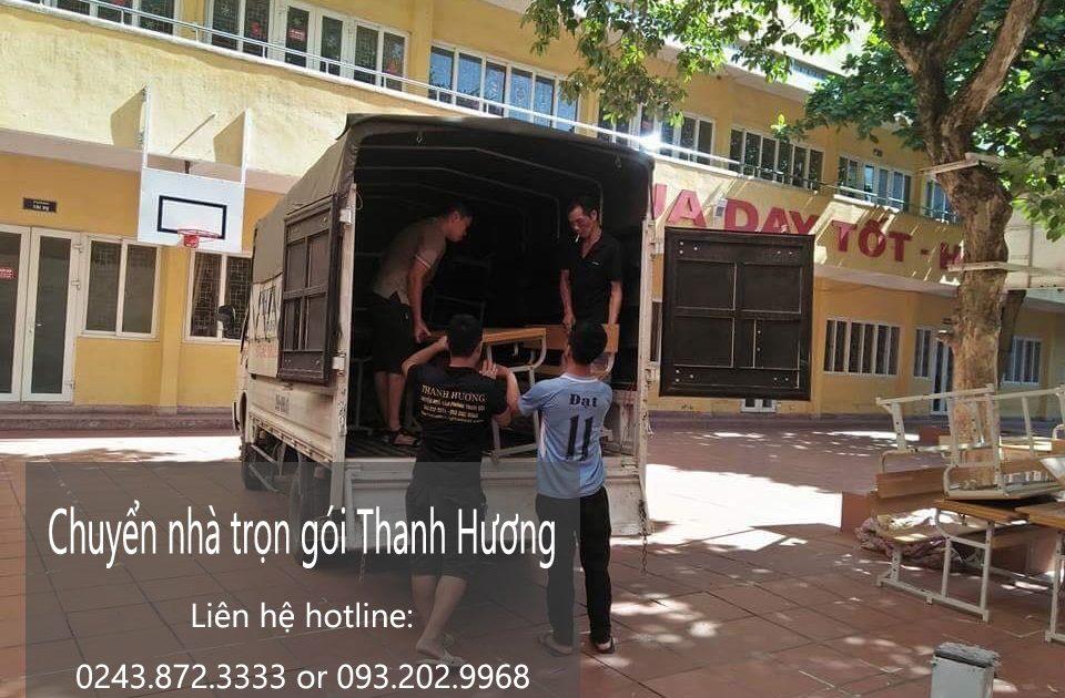 Dịch vụ chuyển nhà trọn gói tại phố Ngô Sĩ Liên