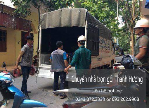 Dịch vụ chuyển nhà trọn gói tại phố Phú Lương