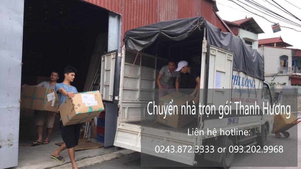 Dịch vụ chuyển nhà trọn gói tại phố Lạc Chính