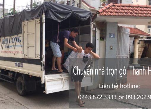 Dịch vụ chuyển nhà trọn gói giá rẻ tại phố Phú Lãm