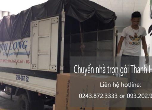 Dịch vụ chuyển nhà trọn gói giá rẻ tại phố Thiền Quang