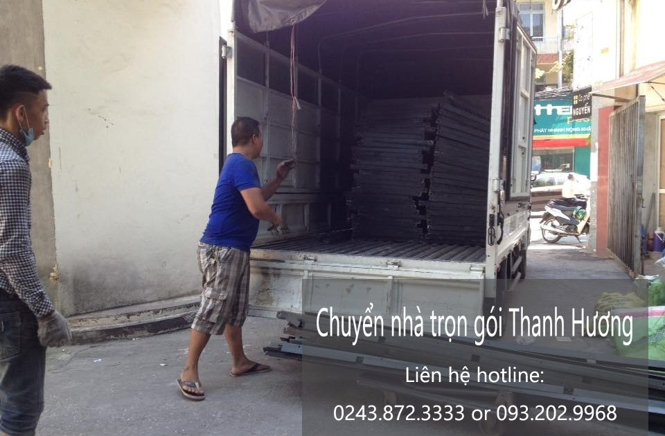 Dịch vụ chuyển nhà trọn gói tại phố Khâm Thiên