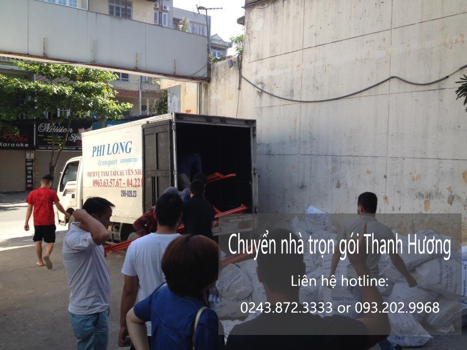 Dịch vụ chuyển nhà trọn gói tại phố Lê Đại Hành