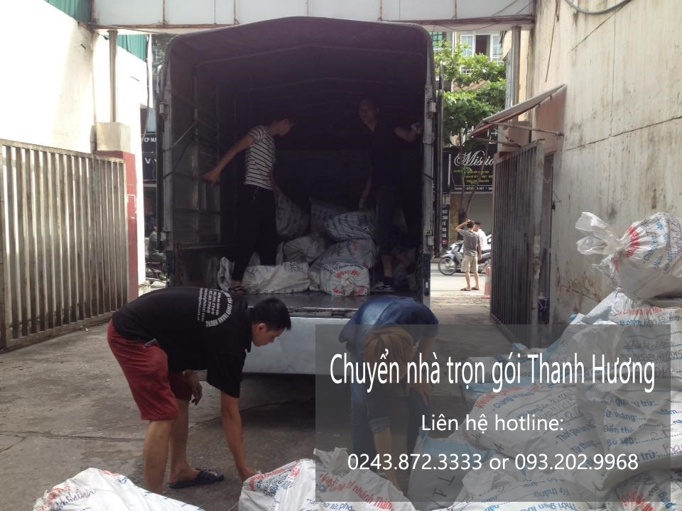 Chuyển nhà trọn gói chuyên nghiệp tại phố Lương Văn Can