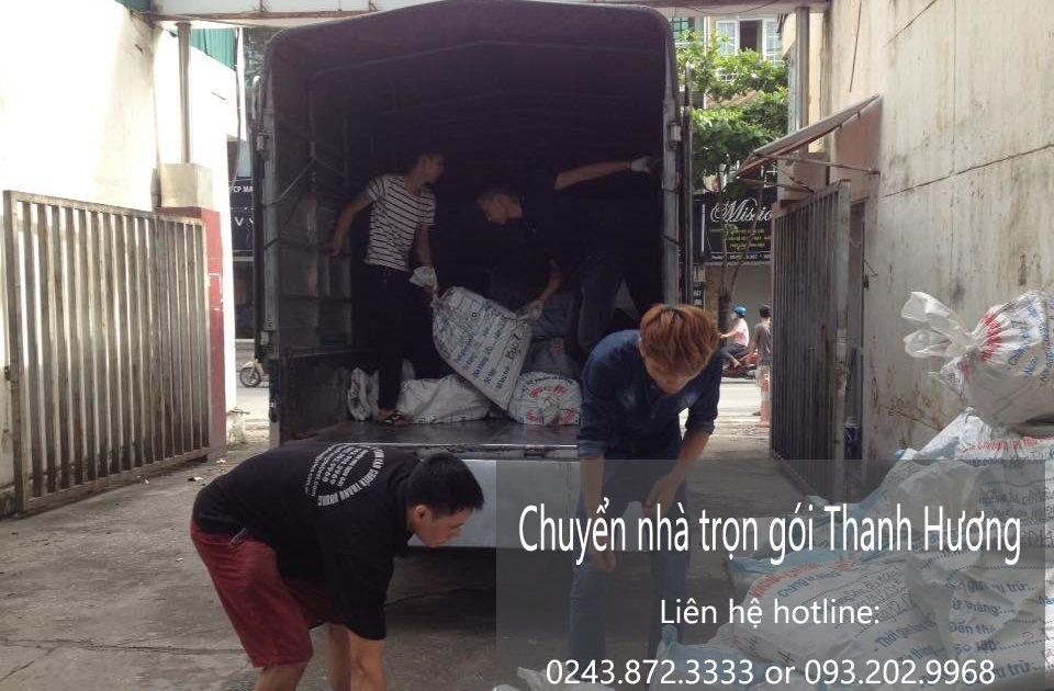 Dịch vụ chuyển nhà trọn gói tại phố Đặng Thai Mai