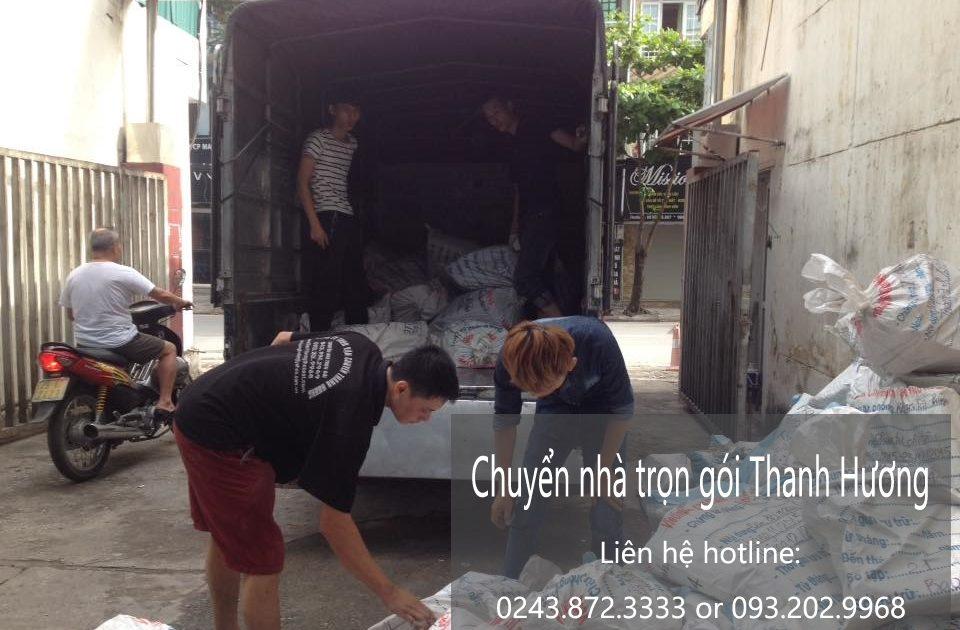 Dịch vụ chuyển nhà trọn gói tại phố Bạch Thái Bưởi