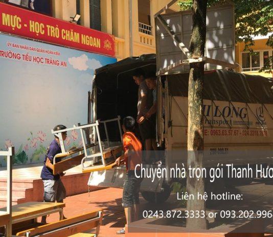 Dịch vụ chuyển nhà trọn gói tại phố Phan Văn Đáng