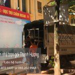 Dịch vụ cho thuê xe tải chuyển nhà tại phố Trấn Vũ