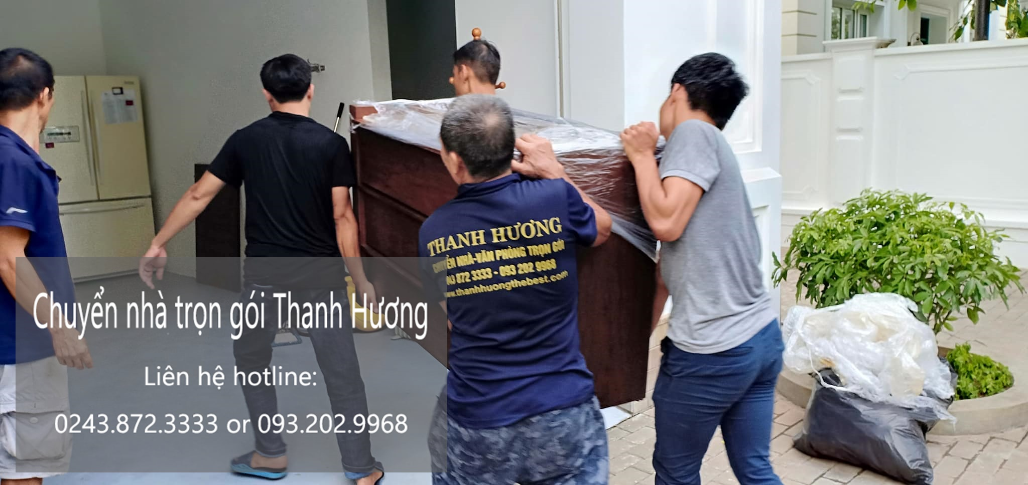 Dịch vụ chuyển nhà từ Hà Nội đi Thái Bình