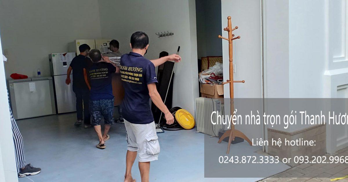 Dịch vụ chuyển nhà trọn gói Thanh Hương tại đường Duy Tân