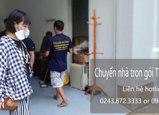 Dịch vụ chuyển nhà trọn gói Thanh Hương tại phố Thể Giao