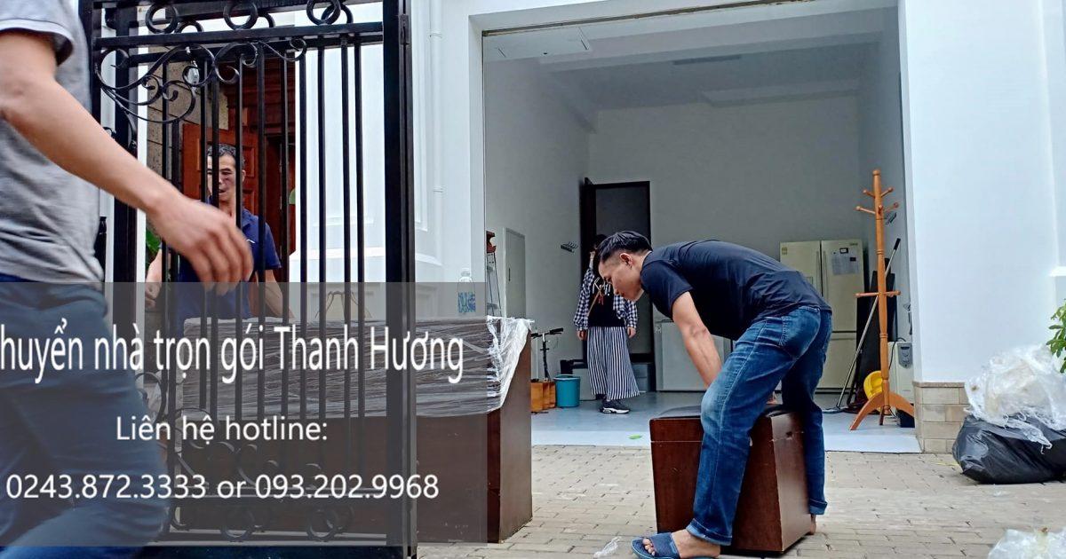 Dịch vụ chuyển nhà trọn gói Thanh Hương tại đường Bát Khối